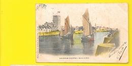 SABLES D'OLONNE Colorisée Entrée Du Port (Amiaud) Vendée (85) - Sables D'Olonne