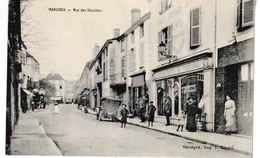 Saône Et Loire MARCIGNY   Rue Des Récollets (Niveau Magasin Ameublements Et Tentures, Animation) - Autres Communes