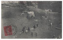 1909 - SIMILI ENTIER POSTAL SEMEUSE 5c ROUGE IMPRIMÉ PSEUDO OBLITERATION De TOULOUSE HAUTE GARONNE CP BIARRITZ - Entiers Postaux