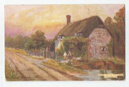 Cpa Raphael Tuck Oilette 7271 The Garden Of England - Tuck, Raphael