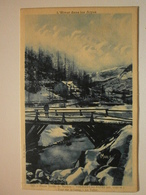 04 Colmars Les Alpes. Pont Sur La Lance, Le Talier. Carte Inédite (240) - Other Municipalities