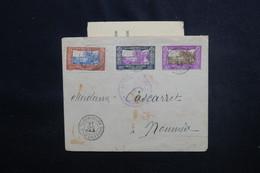 NOUVELLE CALÉDONIE - Enveloppe De Pounerihouen Pour Nouméa En 1943 Avec Cachet De Censure - L 51216 - Cartas