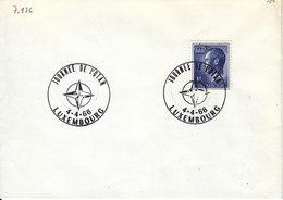 L-Luxembourg 1966. Luxembourg Journée De L'OTAN (7.136) - Luxemburg