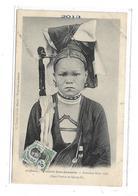 CPMJ3943 COIFFURES FRONTIERE SINO-ANNAMITE FEMME MAN TIEN (HAUT TONKIN ET QUANG SI ) - Vietnam