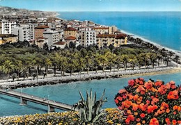 Cartolina Ventimiglia Panorama Timbro A Targhetta PT 1962 - Imperia