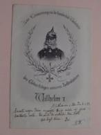 Zur Erinnerung A/d Hundertste Geburtstag Kaiser WILHELM I ( 1797-1888 ) Anno 1898 Mulhausen ( ) - Personnages Historiques