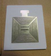 CARTE PARFUMEE GABRIELLE CHANEL - Cartes Parfumées