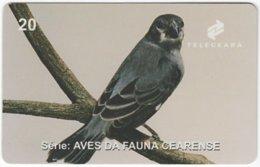 BRASIL J-505 Magnetic Teleceara - Animal, Bird - Used - Brasilien