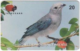 BRASIL J-507 Magnetic Teleceara - Animal, Bird - Used - Brasilien
