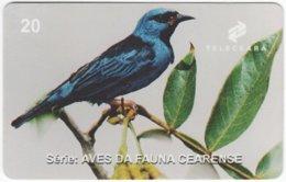 BRASIL J-510 Magnetic Teleceara - Animal, Bird - Used - Brasilien