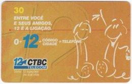 BRASIL J-526 Magnetic CTBC - Cartoon, Communication, Headset - Used - Brasilien