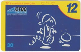 BRASIL J-531 Magnetic CTBC - Cartoon, Communication, Headset - Used - Brasilien