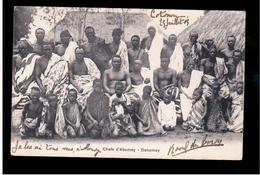 DAHOMEY Chefs D'Abomey 1905 Old Postcard - Benin