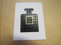 CARTE PARFUMEE  CHANEL COCO NOIR - Cartes Parfumées