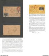 USA. 1857 (May 16) Milwaukee, Wisconsin - Germany, Haeger, Herzogtbum Nassau (2 June) Early Cash Paid Registered Transat - Unclassified