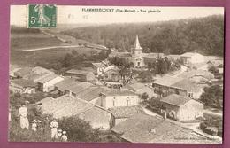 Cpa Flammerecourt Vue Generale  - Animée - éditeur Guillaumet, Cliché Humbert - Autres Communes