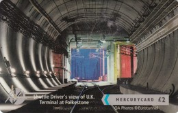 Mercury, MER641, CardEx   Locomotives, Driver's View, Train, Unused, Only 2000 Issued, 2 Scans.   49MERTWOA/WC - Reino Unido