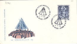 L-Luxembourg 1966. Luxembourg Patronne De La Cité (7.141.1) - Luxemburg