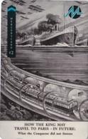 Mercury, MER642, CardEx   Locomotives, Travel To Paris, Train, Unused, Only 2000 Issued, 2 Scans.   49MERTWOA/WC - Reino Unido