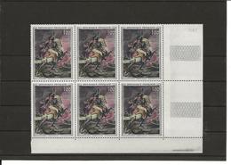France Bloc De 6 YT 1365 Géricault Dont 1365a Tenant à Normal N** MNH - Ongebruikt