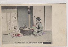 Japanese Lady Feeding Her Baby            (200114) - Japon