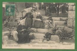23 - Creuse - Carte Peu Courante - Saint Merd La Breuille - Types Du Pays - Creusois Marginaux ? - Francia