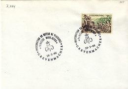 L-Luxembourg 1966. Grevenmacher Bateau Marie-Astrid (7.144) - Luxemburg