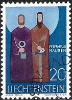 Liechtenstein 1967 - Mi 487 - YT 436 ( Sts Peter And Paul ) - Usati