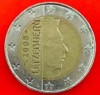 LUSSEMBRUGO - 2008 - Moneta - Ritratto Di Sua Altezza Reale Il Granduca Henri - Euro - 2.00 - Lussemburgo