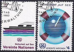 UNO WIEN 1983 Mi-Nr. 30/31 O Used - Aus Abo - Centre International De Vienne