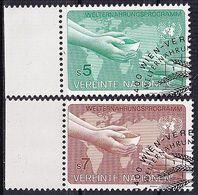 UNO WIEN 1983 Mi-Nr. 32/33 O Used - Aus Abo - Centre International De Vienne