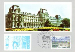 Carte 1er Jour : Centre Téléphonique Des Tuileries (Paris) - Telecom