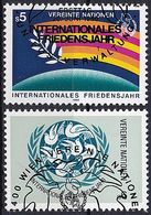UNO WIEN 1986 Mi-Nr. 62/63 O Used - Aus Abo - Gebruikt