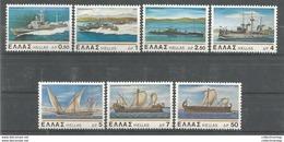 Greece  1978 Greek Navy Ships MNH** - Ships