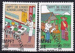 UNO WIEN 1987 Mi-Nr. 77/78 O Used - Aus Abo - Centre International De Vienne