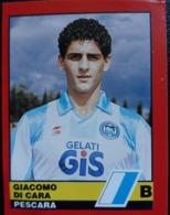 Rara Figurina Calciatori D'Italia Vallardi 1989-90 1990 Di Cara Pescara Numero 542 - Altri