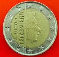 LUSSEMBRUGO - 2010 - Moneta - Ritratto Di Sua Altezza Reale Il Granduca Henri - Euro - 2.00 - Lussemburgo