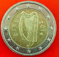IRLANDA - 2014 - Moneta - Arpa Celtica - Euro - 2.00 - Ireland