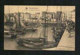 Blankenberghe - 1922 - Le Port - Arrivage De Poissons - Blankenberge
