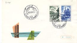 L-Luxembourg 1966. FDC  Luxemburg Europa-Zentrum (7.148) - Luxemburg