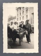 PHOTO LOURDES HOTEL AUX ARMES DE BELGIQUE * ATTELAGE CHEVRE - Lourdes