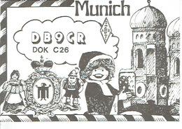 QSL - GERMANY - DB9CR - HORST SEIM - LOHHOF - 1977 - Radio-amateur