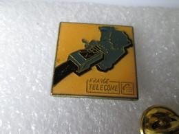 PIN'S   FRANCE TELECOME   (avec Un E) - Telecom De Francia