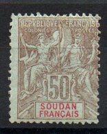 SOUDAN - YT N° 19 - Neuf * - MH - Cote: 17,00 € - Soudan (1894-1902)