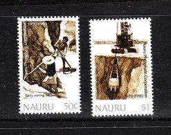 Nauru   - 1990.  Estrazione Dei Fosfati.  Phosphate Extraction. Complete MNH Series - Fabbriche E Imprese