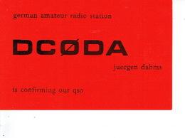 QSL - GERMANY - DC0DA - JUERGEN DAHMS - DORTMUD - 1975 - Radio-amateur
