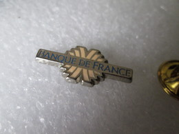 PIN'S   BANQUE DE FRANCE  Zamak - Banken