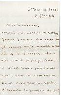Une Lettre écrite De  Pierre Bonnard Peintre  à Monsieur Vignaud - Vieux Papiers