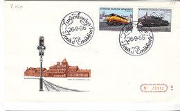 L-Luxembourg 1966. FDC  Luxemburg FISAIC (7.150) - Luxemburg