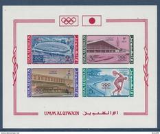 Umm Al Qiwain - YT Bloc N° 1 - Neuf Avec Charnière - 1964 - Umm Al-Qiwain